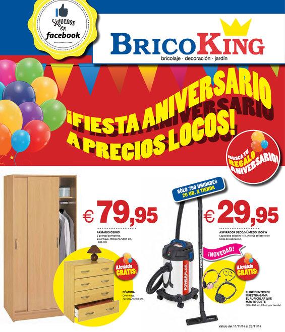Ofertas de Bricoking, ¡Especial Fiesta Aniversario a precios locos!