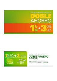 Promoción 1€ + 3 cts/litro