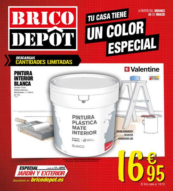 Ofertas de Bricodepot, Tu casa tiene un color especial