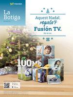 Ofertas de Movistar, Aquest Nadal, regala't Fusión TV