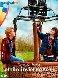 Colección Junior. Otoño-Invierno 2016