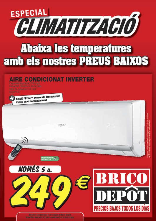 Ofertas de Bricodepot, Especial climatització - Lleida