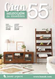 Gran selección de muebles hasta el 55% - Madrid