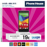 Ofertas de Phone House, La guía - Abril 2015