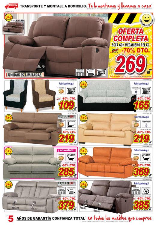 Comprar sof s barato en vitoria gasteiz ofertia for Muebles boom telefono
