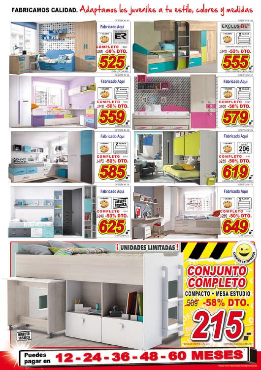 Comprar cama tren barato en madrid ofertia for Donde comprar muebles en madrid