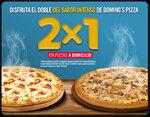 Ofertas de Domino's Pizza, 2x1