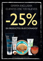 Ofertas de The Body Shop, -25% en productos seleccionados