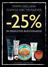 -25% en productos seleccionados