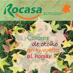 Ofertas de Rocasa, Colores de otoño en tu vuelta al hogar...