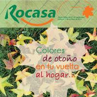 Colores de otoño en tu vuelta al hogar...