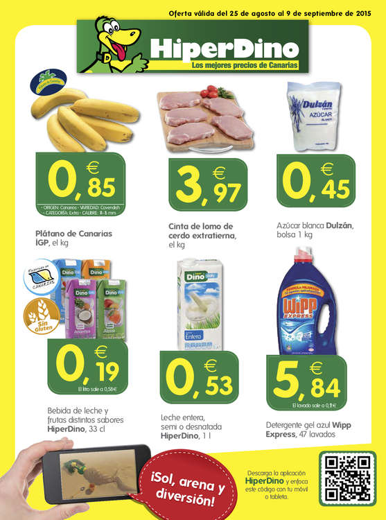 Ofertas de HiperDino, Los mejores precios de Canarias
