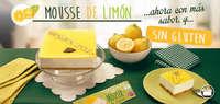 Mousse de limon sin gluten