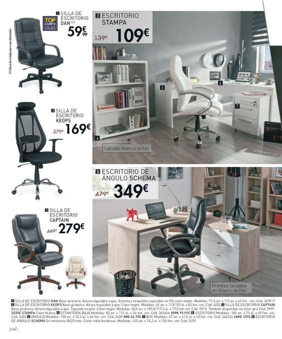 Comprar sillas de oficina barato en valencia ofertia for Conforama sillas oficina