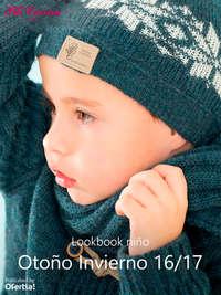 Lookbook niño. Otoño Invierno 16-17