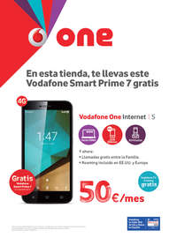 En esta tienda, te llevas este Vodafone Smart Prime 7 gratis