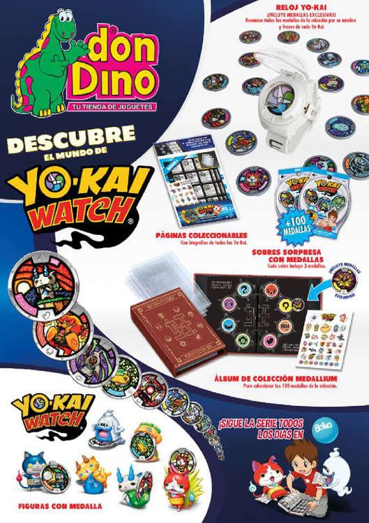 Ofertas de Don Dino, Decubre el mundo de Yo-kai Watch