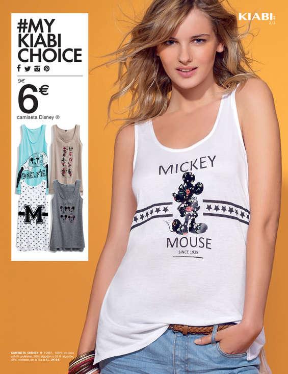 Comprar camiseta de algod n mujer en bilbao camiseta de for Muebles kiabi
