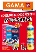 Ofertas de Supermercados Gama, Tenemos buenos precios, ¡Y lo sabes!