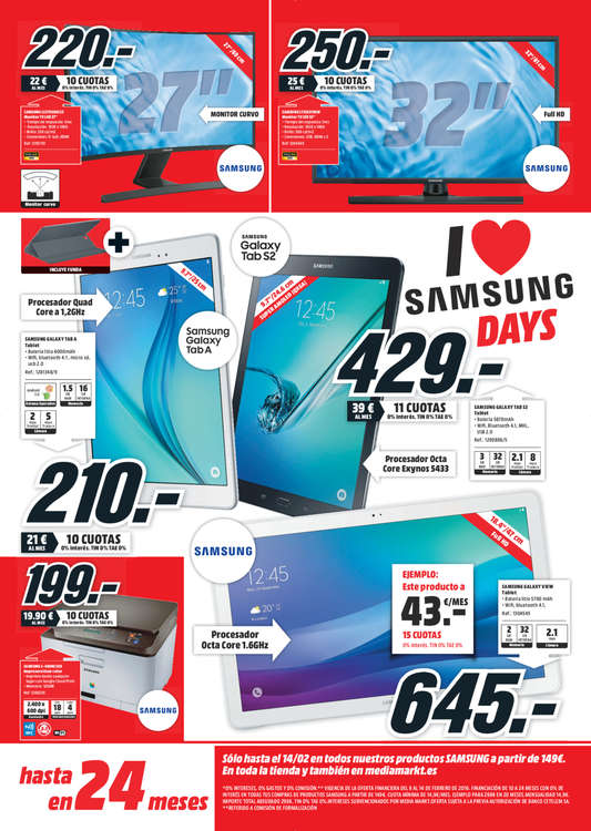 Ofertas de Media Markt, Samsung Days - León