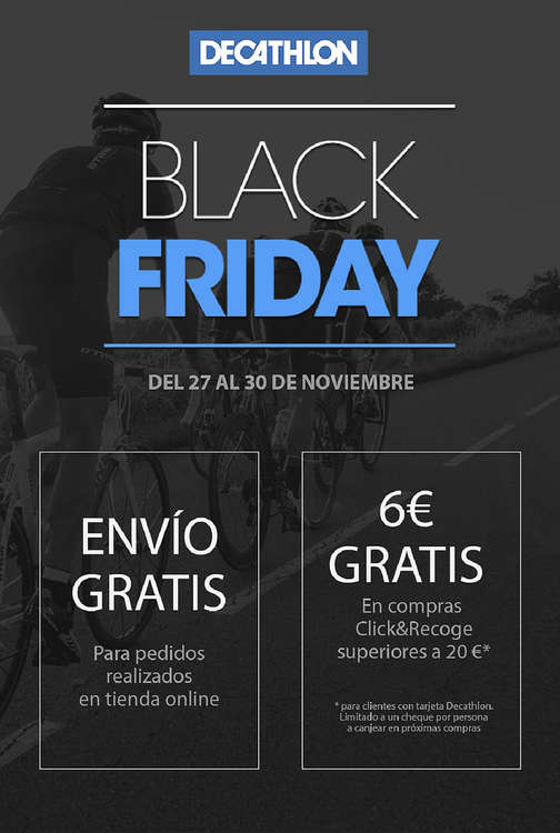 Ofertas de Decathlon, Black Friday