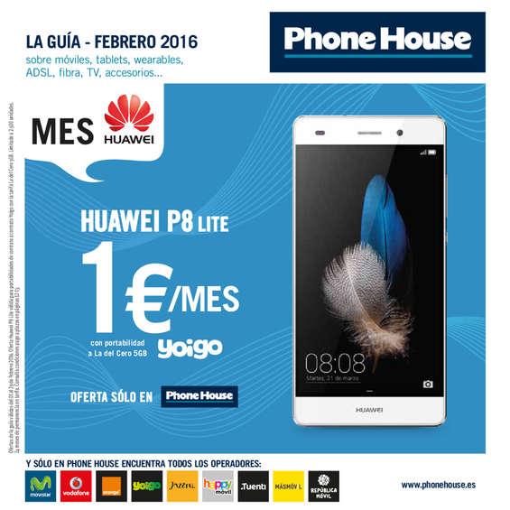 Ofertas de Phone House, La guía - Febrero 2016