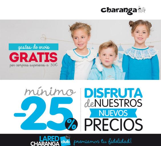 Ofertas de Charanga, Disfruta de nuestros nuevos precios