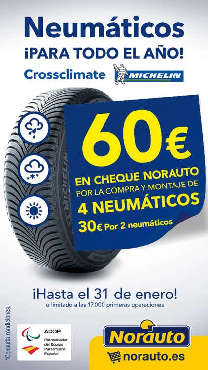 Ofertas de Norauto, Neumáticos ¡para todo el año!