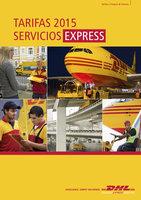 Ofertas de Dhl, Tarifas DHL Express 2015