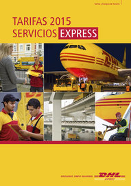 Tarifas DHL Express 2015