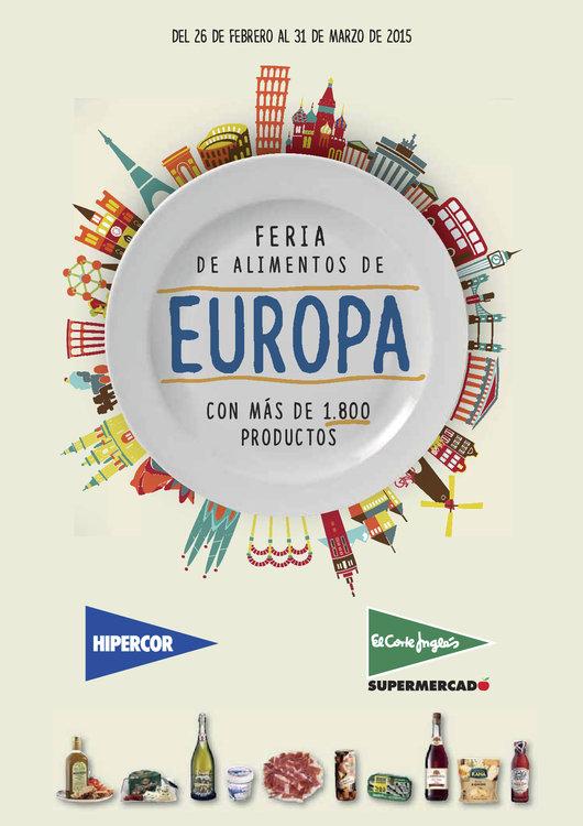 Ofertas de HiperCor, Feria Alimentos de Europa