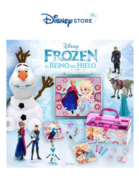 Ofertas de Disney Store, Nueva Colección Frozen. El Reino del Hielo