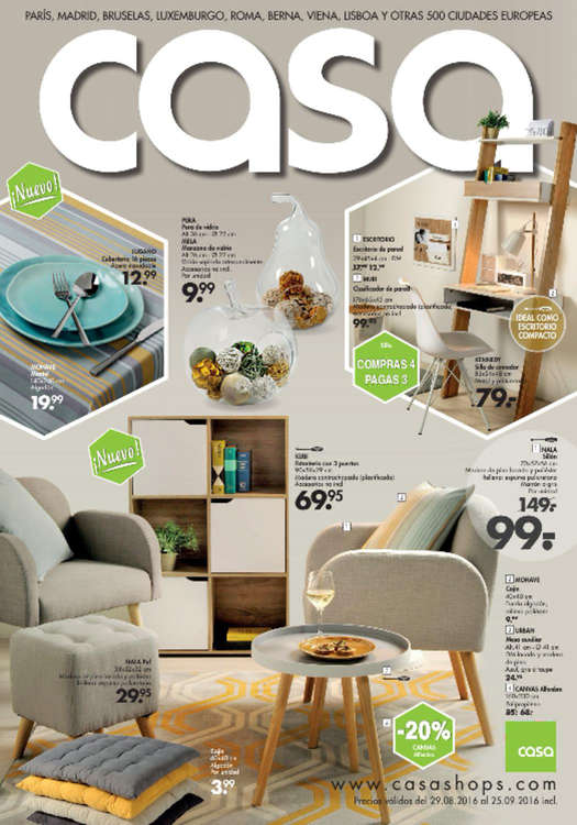 Casa almer a ofertas cat logo y folletos ofertia for Muebles en almeria ofertas