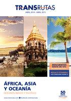 Ofertas de Transrutas, África-Asia-Oceanía 2014