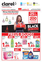 Ofertas de Clarel, Menys BLA-BLA-BLA i més BLACK-BLACK