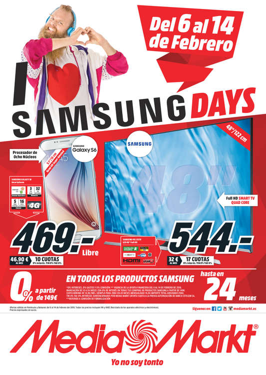 Ofertas de Media Markt, Samsung Days - Álava