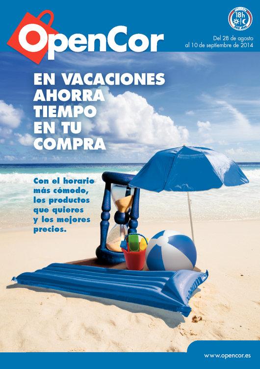 Ofertas de OpenCor, En vacaciones ahorra tiempo en tu compra