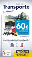 Ofertas de Norauto, Transporte Hasta 60€ dto