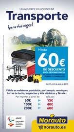 Transporte Hasta 60€ dto