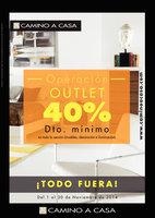 Ofertas de Camino A Casa, Operación Outlet - 40% de descuento