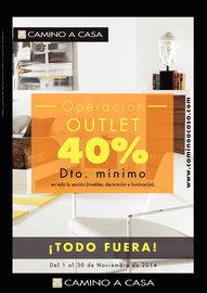 Operación Outlet - 40% de descuento