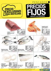 Pescados - precios fijos