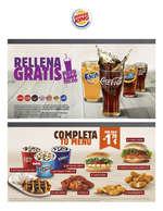 Ofertas de Burger King, Promociones y ofertas