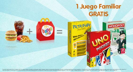 Ofertas de McDonald's, Un juego familiar gratis