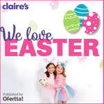 Ofertas de Claire's, We love easter