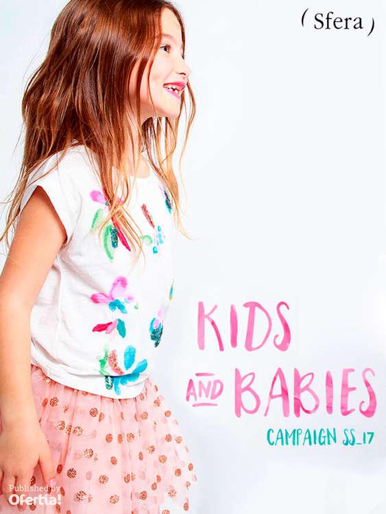Ofertas de ( Sfera ), Kids&Babies. Campaign SS17