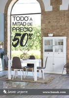 Ofertas de Banak Importa, Todo a mitad de precio. -50% - Zaragoza