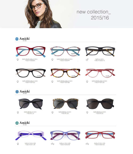 Ofertas de Opticalia, New collection 2015/16