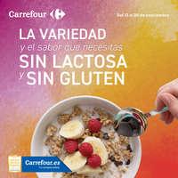 La variedad y el sabor que necesitas sin lactosa y sin gluten.