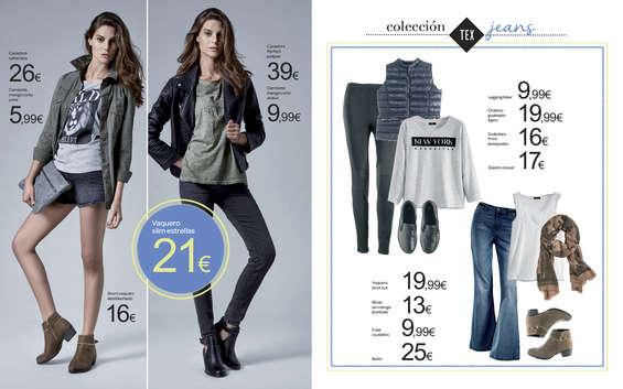 Ofertas de Carrefour, Colección Jeans y Deporte